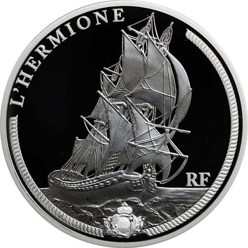 Vorderseite:Frankreich : 50 Euro Hermione  2012 PP