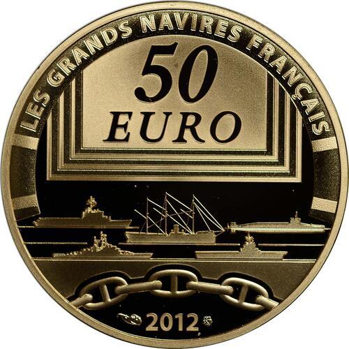 Rückseite :Frankreich : 50 Euro Jeanne d