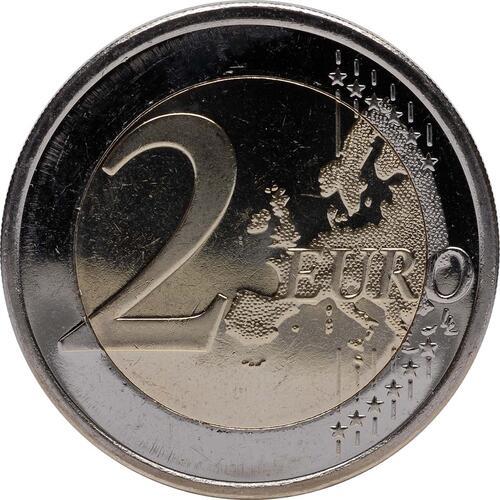 Vorderseite :Finnland : 2 Euro 10 Jahre Euro Bargeld  2012 bfr