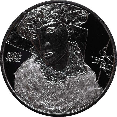 Vorderseite:Österreich : 20 Euro Egon Schiele  2012 PP