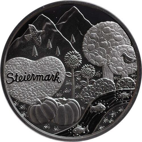 Rückseite:Österreich : 10 Euro Steiermark  2012 PP