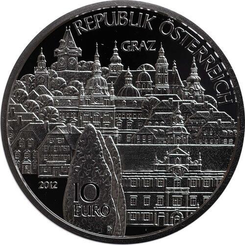 Vorderseite:Österreich : 10 Euro Steiermark  2012 PP