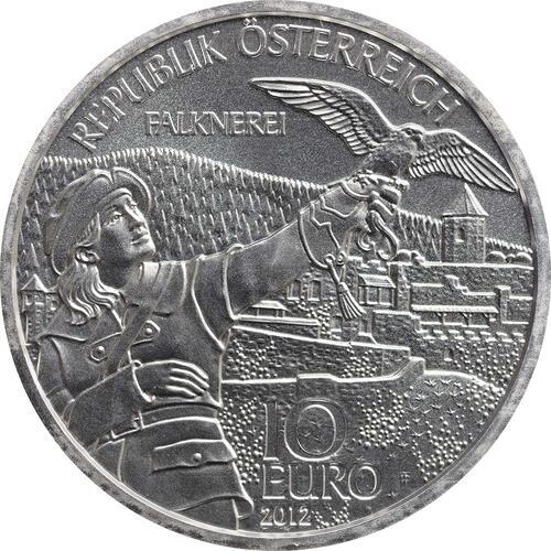 Rückseite:Österreich : 10 Euro Kärnten  2012 Stgl.