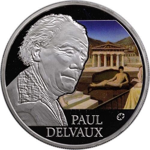 Vorderseite:Belgien : 10 Euro Paul Delvaux  2012 PP