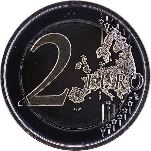Vorderseite:Belgien : 2 Euro 75 J. Königin-Elisabeth Internationaler Musik Wettbewerb  2012 PP