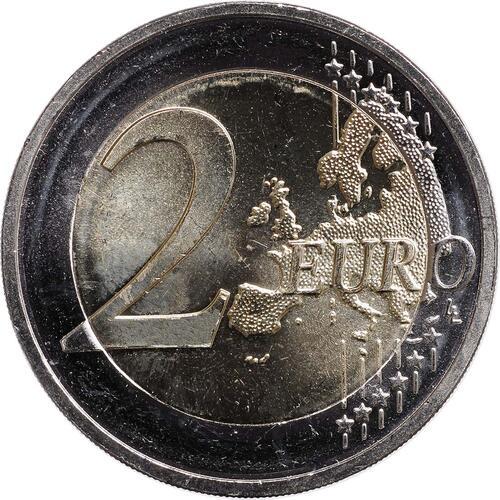 Vorderseite :Deutschland : 2 Euro Schloss Neuschwanstein  2012 bfr