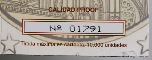 Zertifikat :Spanien : 2 Euro Burgos  2012 PP