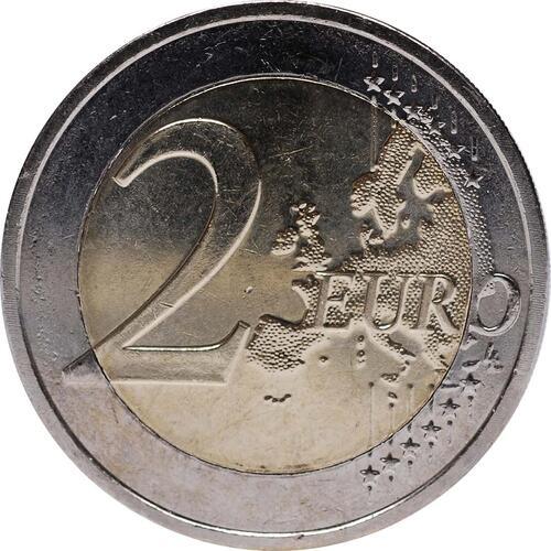 Vorderseite :Niederlande : 2 Euro 10 Jahre Euro Bargeld  2012 vz.