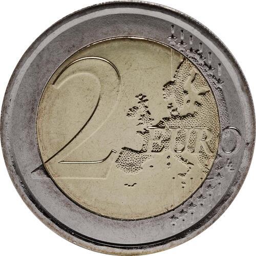 Vorderseite:Italien : 2 Euro 100. Todestag Giovanni Pascoli  2012 bfr