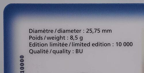 Zertifikat:Luxemburg : 2 Euro Guillaume IV  2012 Stgl.