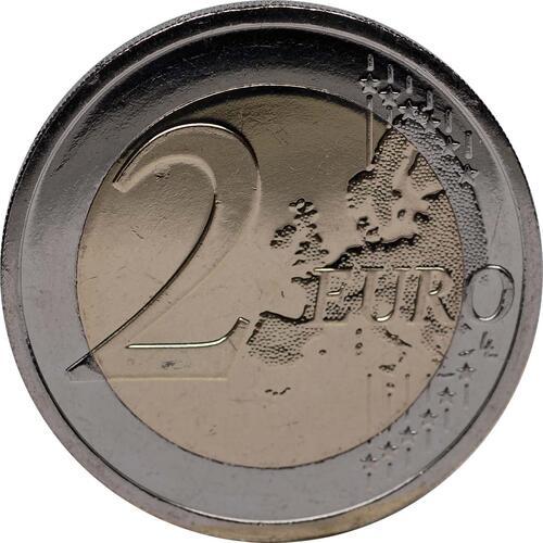 Vorderseite :Irland : 2 Euro 10 Jahre Euro Bargeld  2012 bfr