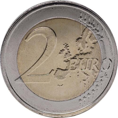 Vorderseite :Luxemburg : 2 Euro Guillaume IV  2012 bfr