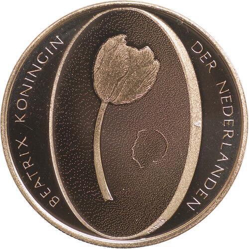 Rückseite:Niederlande : 10 Euro Tulpe  2012 PP