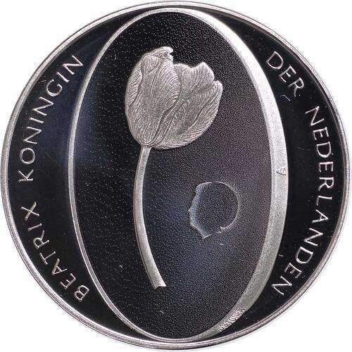 Rückseite:Niederlande : 5 Euro Tulpe  2012 PP