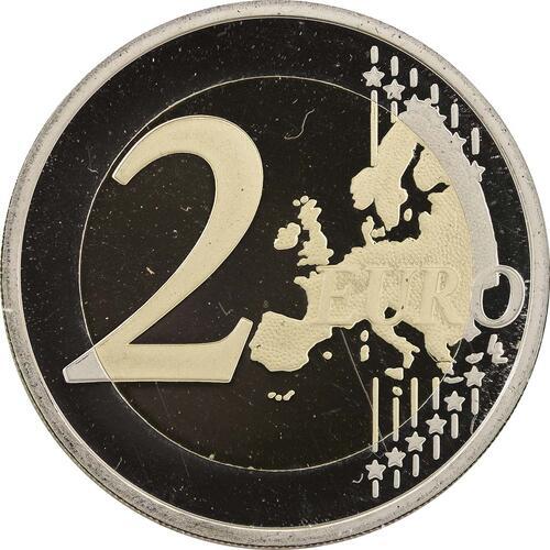Vorderseite:Portugal : 2 Euro Europäische Kulturhauptstadt Guimaraes  2012 PP