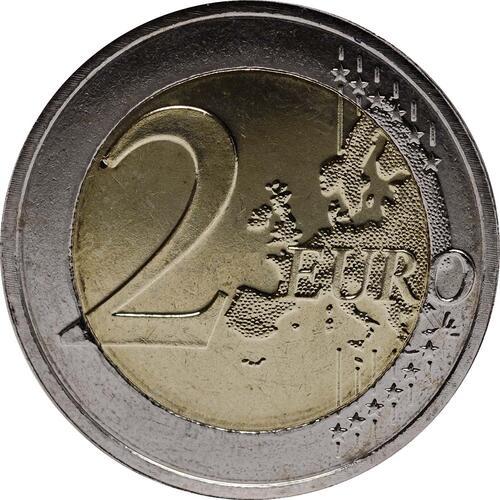 Vorderseite:Malta : 2 Euro Mehrheitswahlrecht 1887  2012 bfr