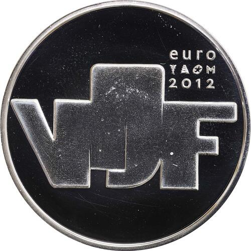 Rückseite:Niederlande : 5 Euro Bildhauerkunst  2012 PP