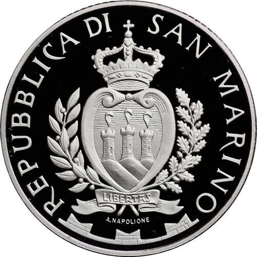 Rückseite:San Marino : 10 Euro Aligi Sassu  2012 PP