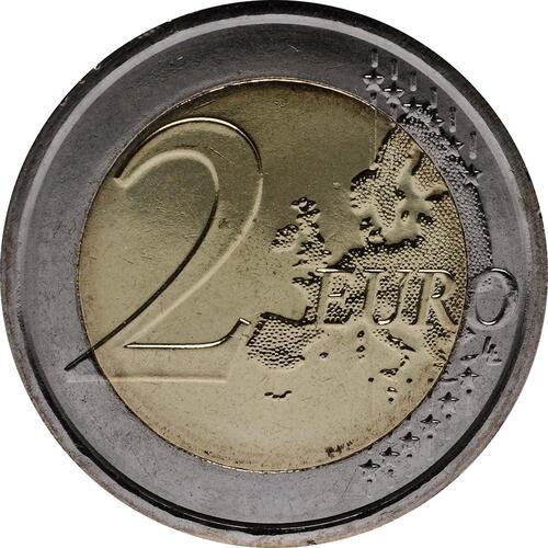 Vorderseite :Vatikan : 2 Euro 7. Weltfamilientreffen  2012 Stgl.