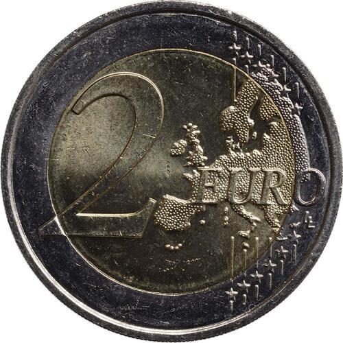 Vorderseite:Monaco : 2 Euro Albert  2012 vz/Stgl.
