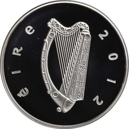 Rückseite:Irland : 15 Euro Hund / Hound  2012 PP