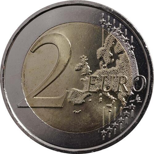 Vorderseite :Frankreich : 2 Euro 50 Jahre Elysée-Vertrag  2013 bfr