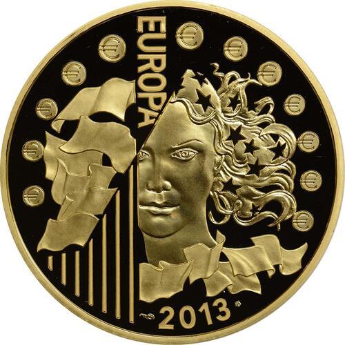 Rückseite:Frankreich : 200 Euro 50 Jahre Elysée-Vertrag  2013 PP