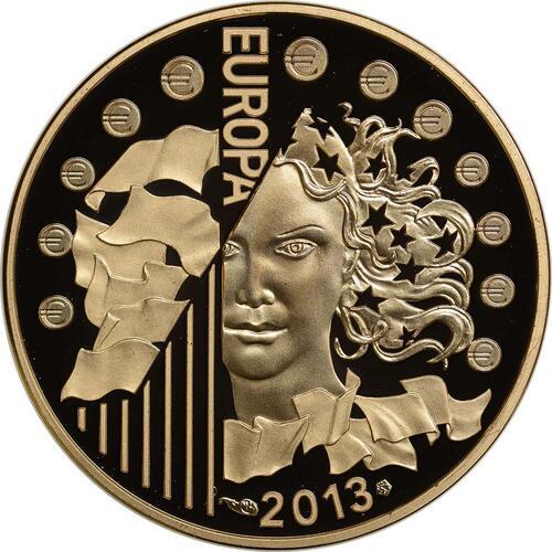 Vorderseite:Frankreich : 50 Euro 50 Jahre Elysée-Vertrag  2013 PP