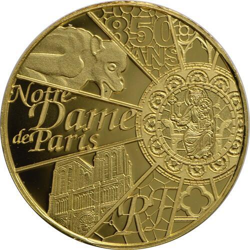 Vorderseite:Frankreich : 5 Euro Notre Dame  2013 PP