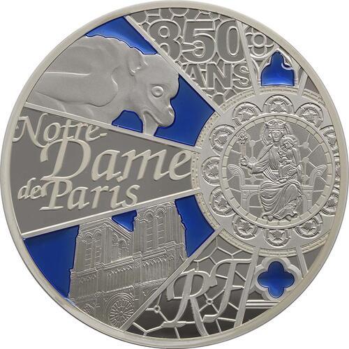 Vorderseite:Frankreich : 50 Euro Notre Dame - farbig  2013 PP