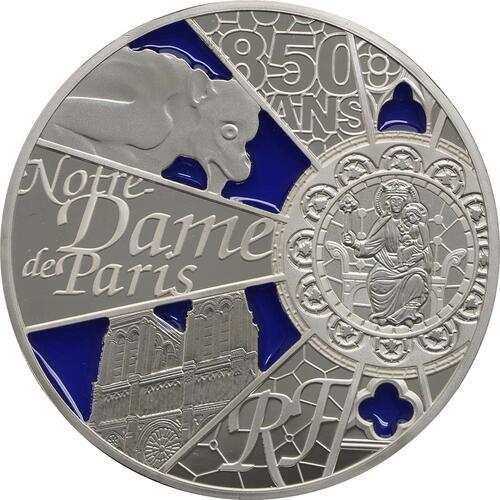 Vorderseite:Frankreich : 10 Euro Notre Dame - farbig  2013 PP