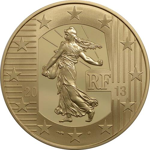Rückseite:Frankreich : 100 Euro MetalMorphoses - Pessac  2013 PP