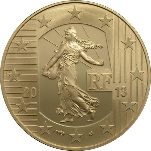 Rückseite:Frankreich : 50 Euro MetalMorphoses - Pessac  2013 PP