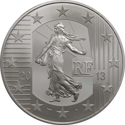 Rückseite:Frankreich : 10 Euro MetalMorphoses - Pessac  2013 PP