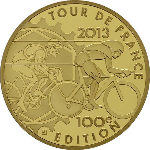 Vorderseite:Frankreich : 200 Euro Tour de France  2013 PP