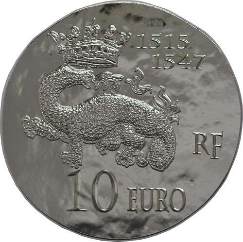 Rückseite:Frankreich : 10 Euro Francois I.  2013 Stgl.