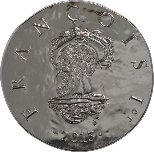 Vorderseite:Frankreich : 10 Euro Francois I.  2013 Stgl.