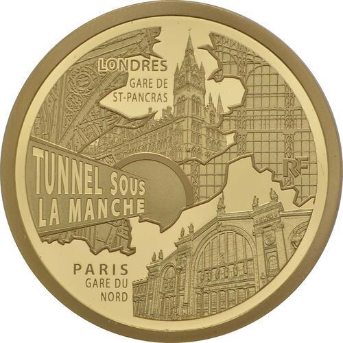 Vorderseite:Frankreich : 50 Euro Kanaltunnel  2013 PP