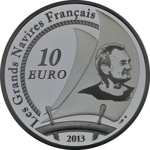 Rückseite:Frankreich : 10 Euro Pen Duick  2013 PP