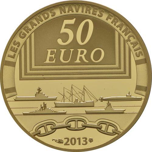 Rückseite:Frankreich : 50 Euro La Gloire  2013 PP
