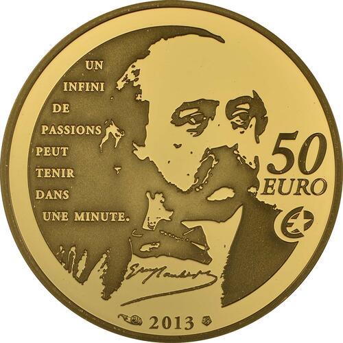 Rückseite:Frankreich : 50 Euro Madame Bovary - EUROPASTERN  2013 PP