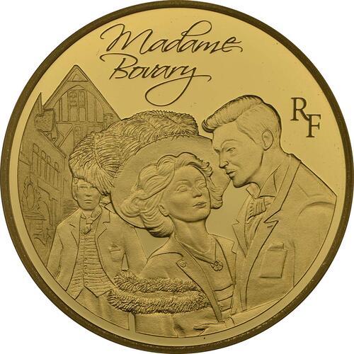 Vorderseite:Frankreich : 50 Euro Madame Bovary - EUROPASTERN  2013 PP