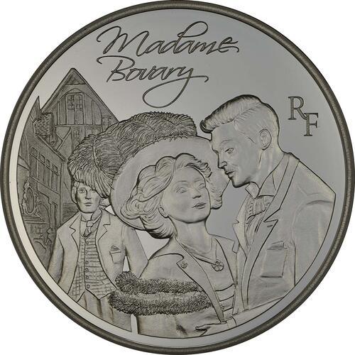 Vorderseite:Frankreich : 10 Euro Madame Bovary - EUROPASTERN  2013 PP