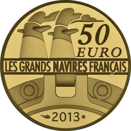 Rückseite:Frankreich : 50 Euro L'Amazone  2013 PP