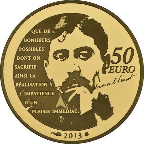 Rückseite:Frankreich : 50 Euro Odette de Crécy  2013 PP