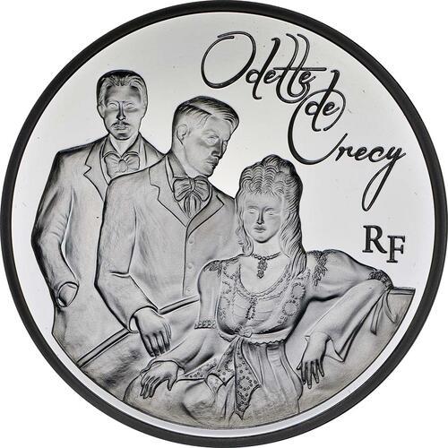 Vorderseite:Frankreich : 10 Euro Odette de Crécy  2013 PP