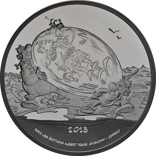 Vorderseite:Frankreich : 10 Euro Asterix  2013 PP