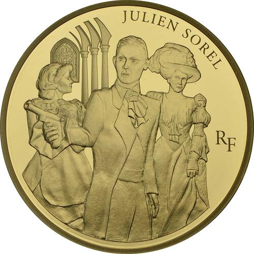 Vorderseite:Frankreich : 50 Euro Julien Sorel  2013 PP