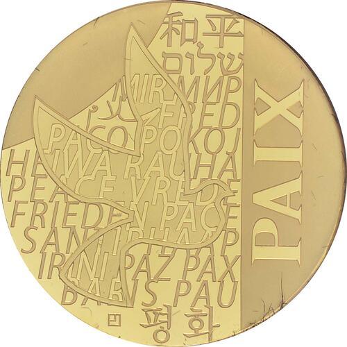 Vorderseite:Frankreich : 250 Euro Frieden  2013 Stgl.