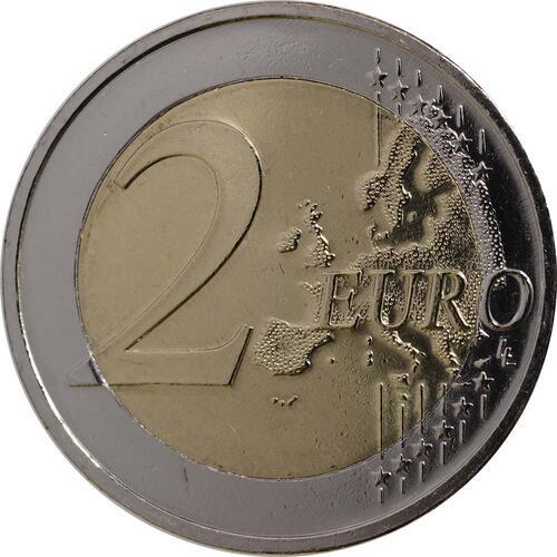 Vorderseite:Deutschland : 2 Euro Elysée-Vertrag  2013 Stgl.
